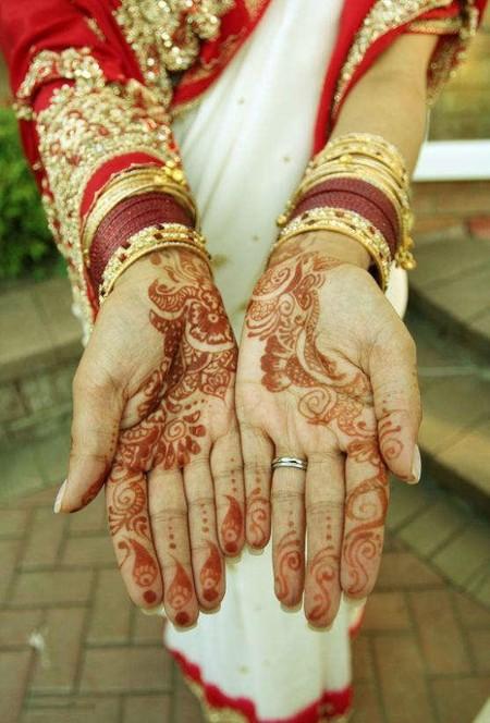 Менди – украшение не только для индийских принцесс — фото 9