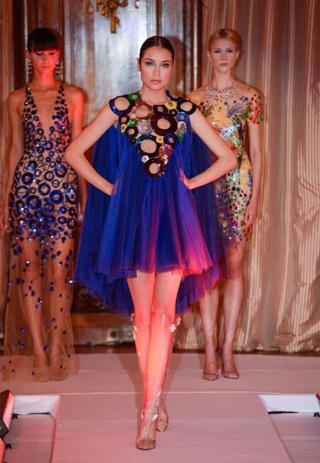 Наши в Париже – коллекция Юлии Яниной сезона весна-лето 2013 — фото 12