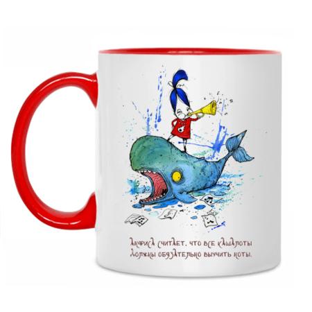 Чашки веселенькие — обхохочешься! )))