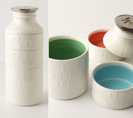Milk Bottle Measuring Cups — как башенка из кубиков