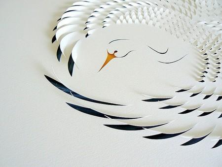 Тонкая бумажная резьба – работы Лизы Родден — фото 18