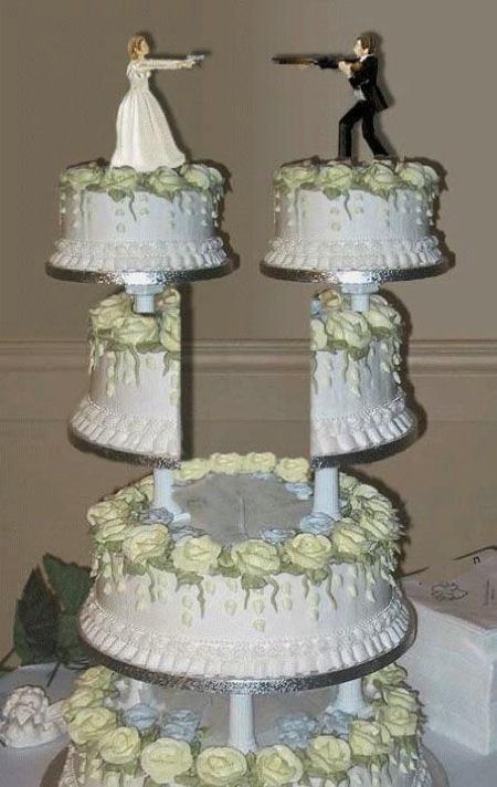 Отпразднуем … развод? Антисвадебные торты от Фэй Миллар — фото 12