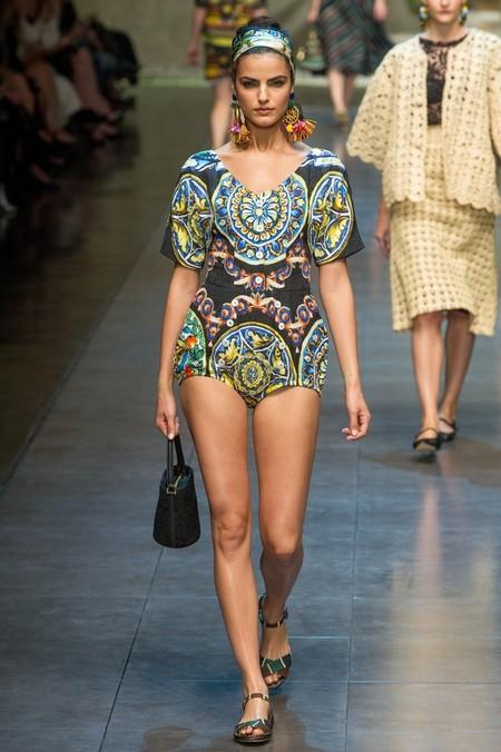 Сицилия от Dolce & Gabbana - женская коллекция весна-лето 2013 — фото 68