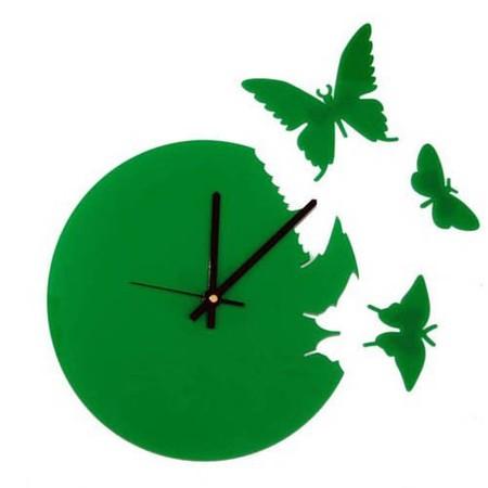 Что общего у времени и бабочек? Разгадка – в часах Butterfly clock — фото 10