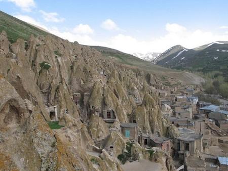 Кандован: странный город – термитник в Иране — фото 3