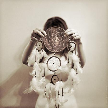 Ловец снов – подарок и оберег от ночных кошмаров — фото 8