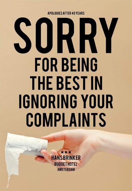 Извините, что мы так лучше всех игнорируем ваши жалобы!