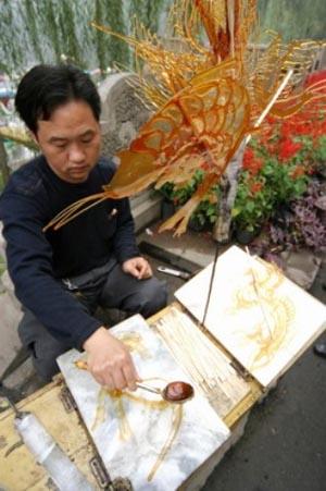 Карамельные рисунки – китайское искусство «танхуа» — фото 2
