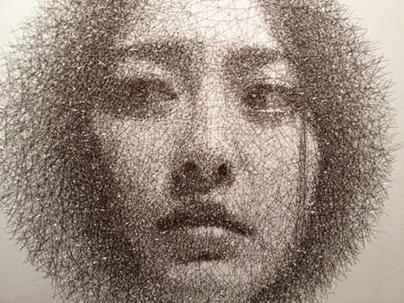 Скульптор, работающий с проволочной сеткой – Сон Мо Парк — фото 11