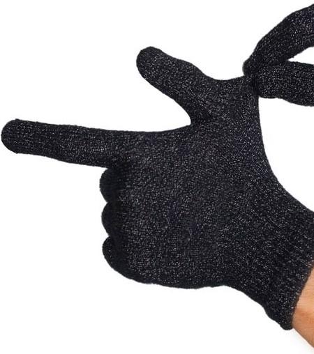 Перчатки хорошо тянутся, поэтому отлично облегают руку