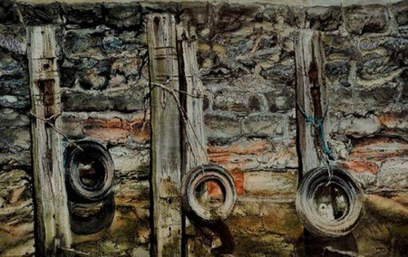 Вышитые пейзажи Джилл Дрэпер (Jill Draper) — фото 13