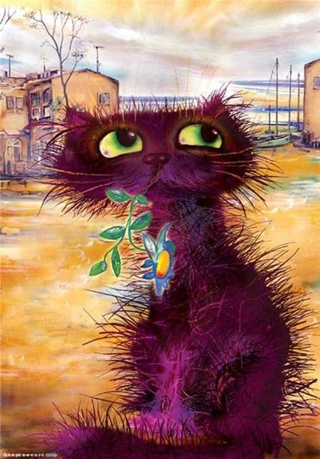 Коты и кошки Бориса Касьянова — фото 12