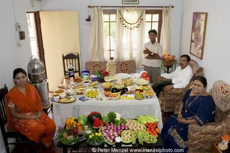 Индия: затраты на еду $39.27 в неделю