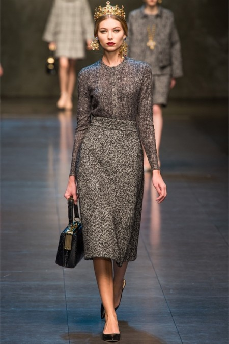 Dolce & Gabbana осень-зима 2013-2014 – когда всего слишком много — фото 26
