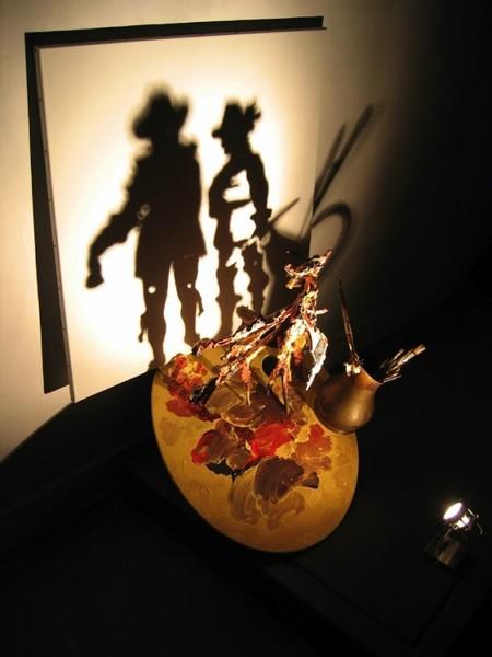 Танцы с тенью – скульптуры Diet Wiegman — фото 2