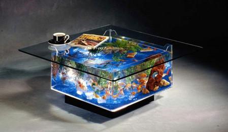 Аквариум – не только домик для рыб. Необычные и разные, маленькие и огромные аквариумы – солисты в интерьере — фото 9