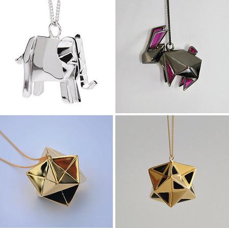 Драгоценные фигурки-оригами от Claire & Arnaud — фото 3