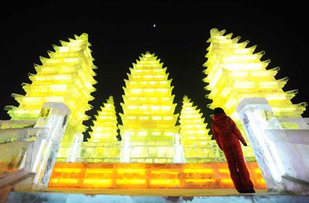 Фестиваль Ледяных дворцов в китайском Харбине – зимняя сказка — фото 22