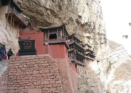 Экстремальный … монастырь – храм горы Хэншань в Китае — фото 7