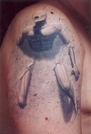Татуировки в формате 3D – искусство или …? — фото 27