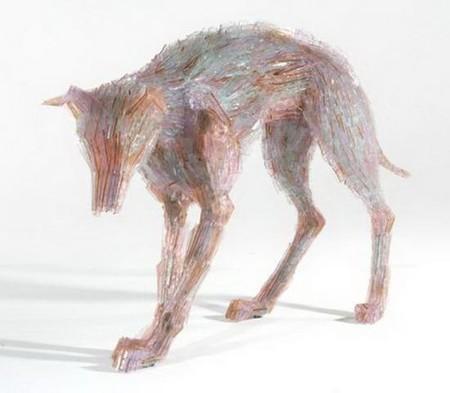 Скульптуры из битого стекла от Марты Клоновской — фото 4