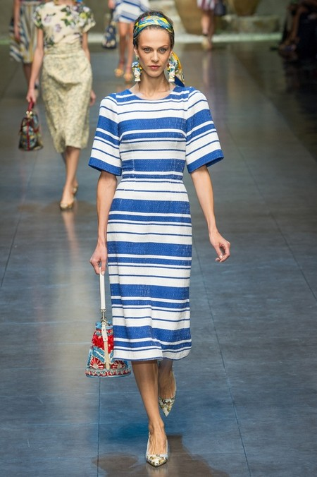 Сицилия от Dolce & Gabbana - женская коллекция весна-лето 2013 — фото 2