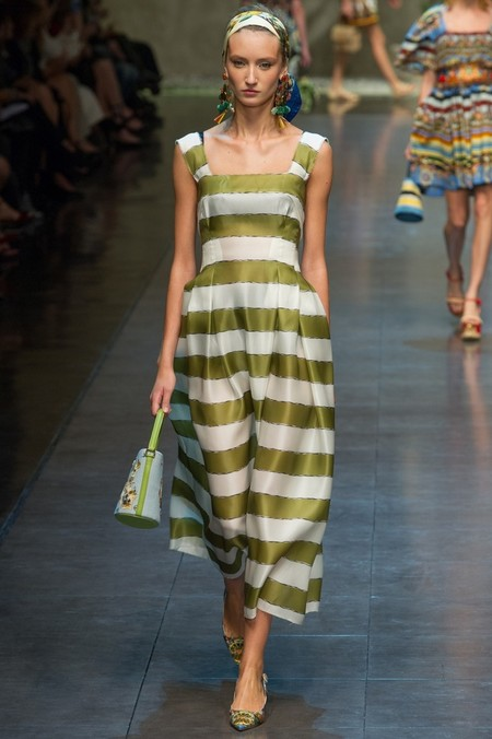 Сицилия от Dolce & Gabbana - женская коллекция весна-лето 2013 — фото 65