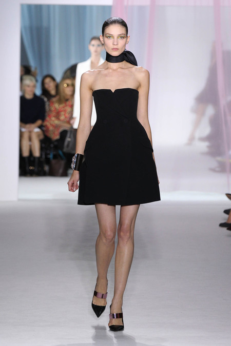 Женская коллекция Dior весна-лето 2013 — фото 5