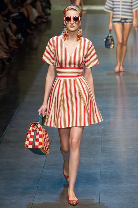 Сицилия от Dolce & Gabbana - женская коллекция весна-лето 2013 — фото 89