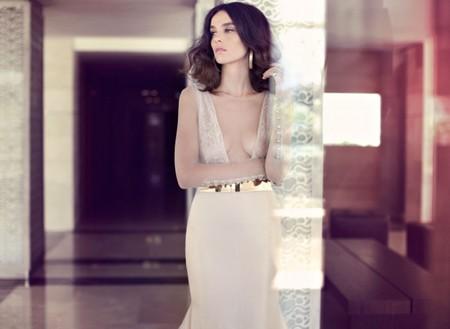 Свадебная коллекция Zahavit Tshuba – если хочется нежное и необычное платье — фото 23