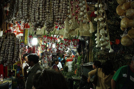Большой рынок товаров для колдовства в Мексике — фото 5