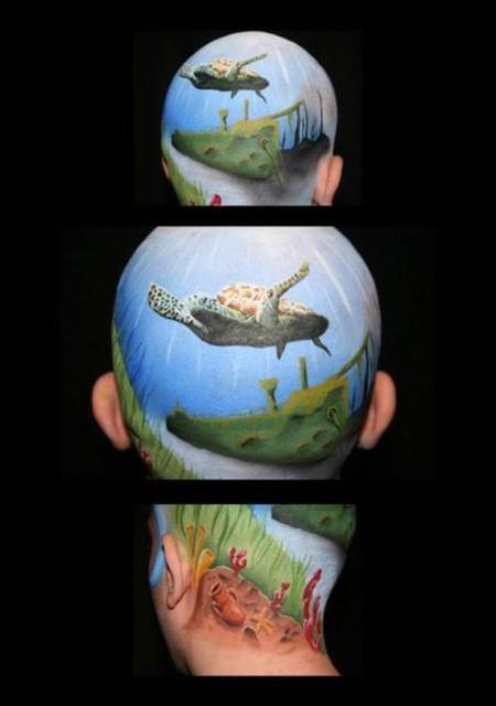 Как креативно скрыть лысину – идеи Филиппа Левайна — фото 8
