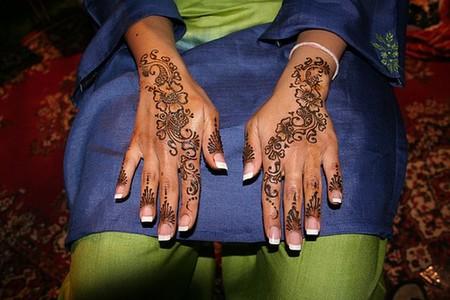 Менди – украшение не только для индийских принцесс — фото 44
