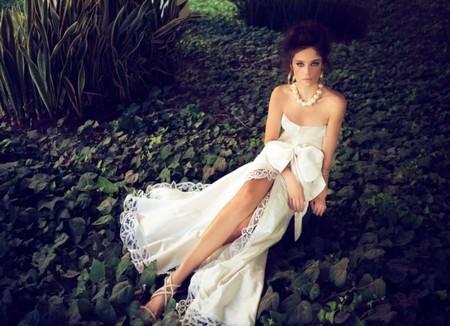 Свадебная коллекция Zahavit Tshuba – если хочется нежное и необычное платье — фото 26