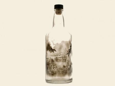 Дымный мир внутри бутылки – работы Джима Динджилиана — фото 10