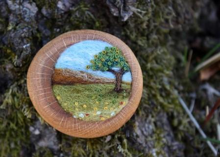 Маленькие войлочные штучки от Лизы Джордан — фото 6