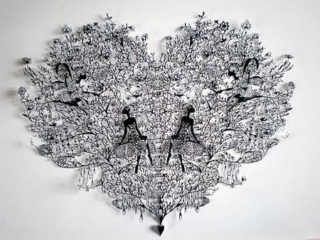 Кружева из бумаги – ювелирные работы Хины Аоямы — фото 18