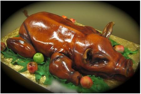 Наверняка, получатели таких тортов-подарков очень любят покушать — ведь торты обычно отражает их главные интересы и увлечения