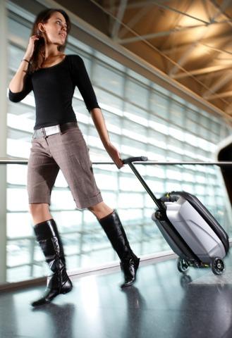 Ехать необязательно, можно просто везти, как обычный чемодан