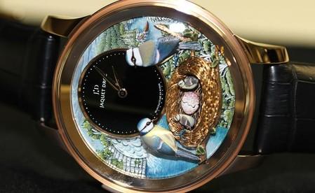 Дорогой эксклюзив – часы Jaquet Droz Bird Repeater — фото 4