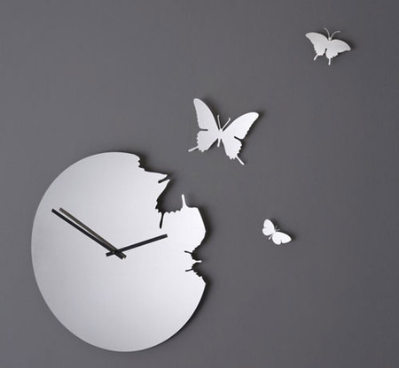 Что общего у времени и бабочек? Разгадка – в часах Butterfly clock — фото 4