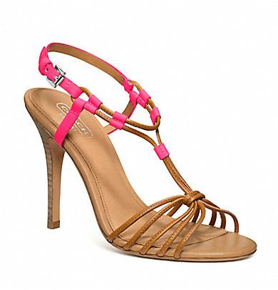 Коллекция обуви от Coach весна-лето 2013 – каблуки, платформа, мокасины, сандалии! — фото 21