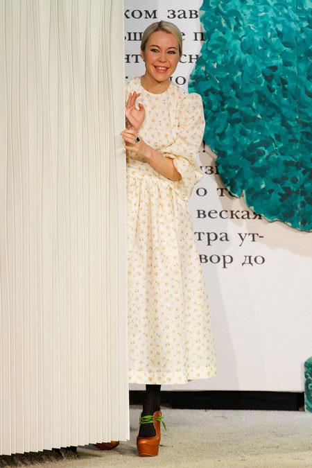 Коллекция Ульяны Сергеенко весна-лето 2013 – русское ретро с американским оттенком — фото 36
