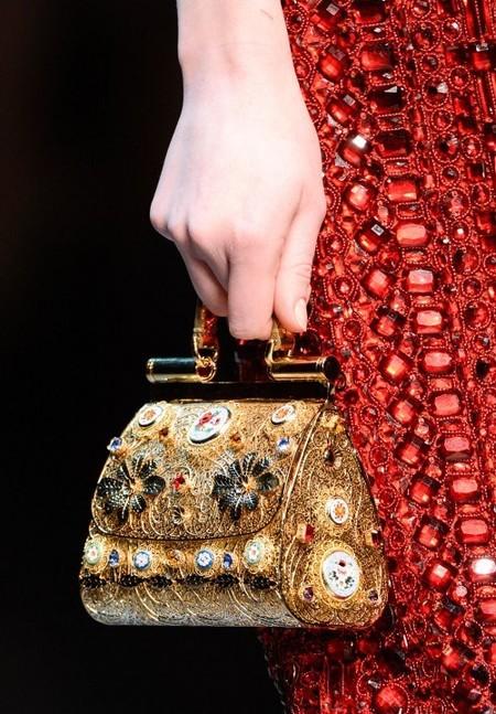 Dolce & Gabbana осень-зима 2013-2014 – когда всего слишком много — фото 86
