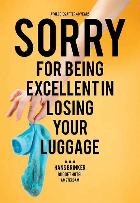 Извините, что мы так блестяще теряем ваши вещи!