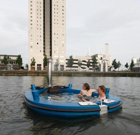 Лодки Hot Tub Boat – с теплым бассейном-джакузи и музыкой — фото 5