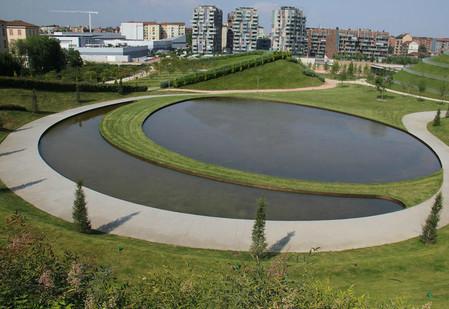 """""""Спирали времени"""", Parco Portello, Милан, Италия"""