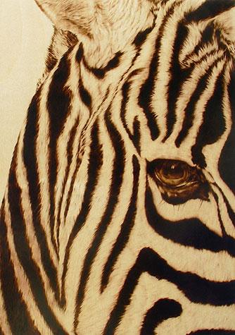 Пирография – горячая живопись Джулии Бендер — фото 16