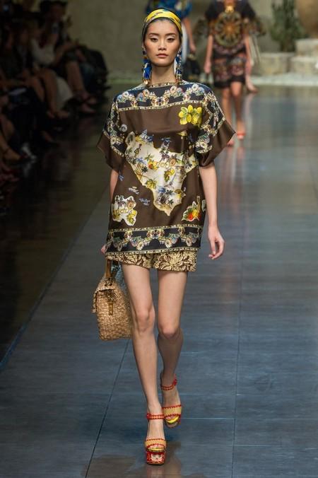 Сицилия от Dolce & Gabbana - женская коллекция весна-лето 2013 — фото 4