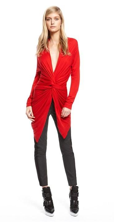 Женская коллекция DKNY зима 2013 – фирменная лаконичность — фото 10